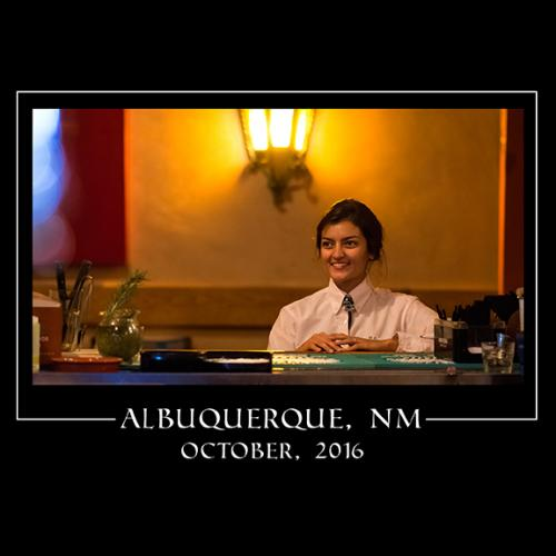 Albuquerque_El Paso Waitress_Portrait