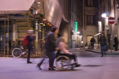 Florence in Motion Wheelchair